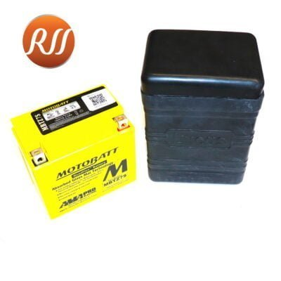 B38-6   PU7D AGM Battery 12V Lucas Rubber Case