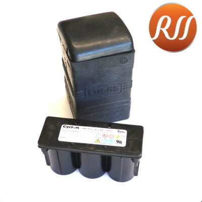 B49-6 or PUZ5D Rubber Case Cyclon 6V Battery