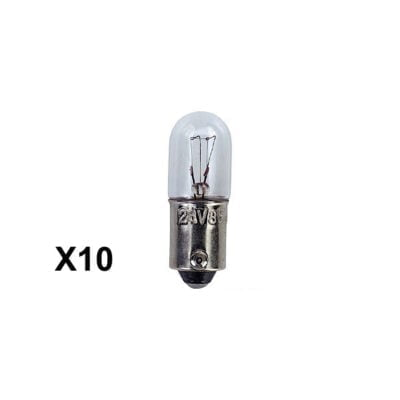 instrument pilot side light bulb ba9