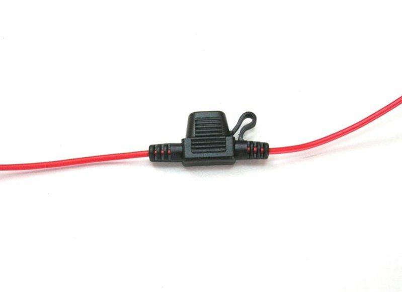 mini blade fuse holder 16 amps rex s speed shop rh rexs speedshop com  motorcycle inline fuse holder