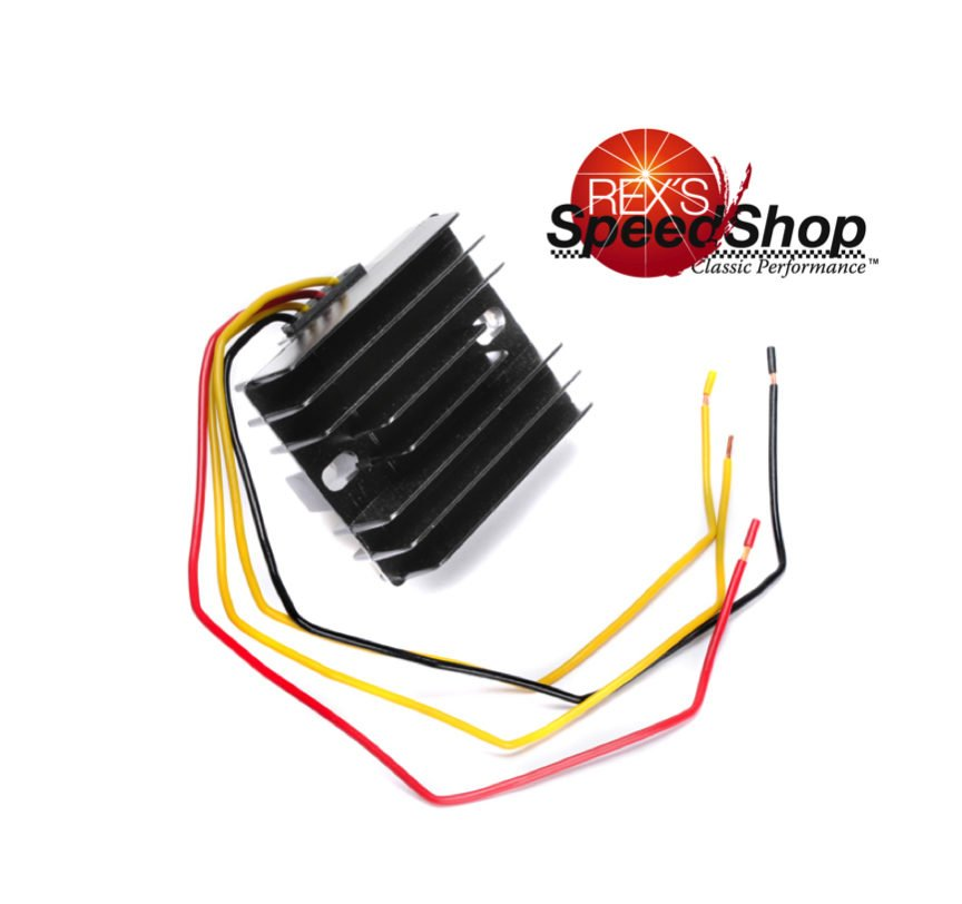 Rex's 12V High Power Single Phase Regulator/Rectifier - Rex's Speed Shop