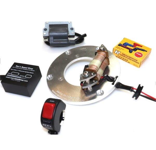 yamaha ty250 electronic ignition stator kit up-grade rex