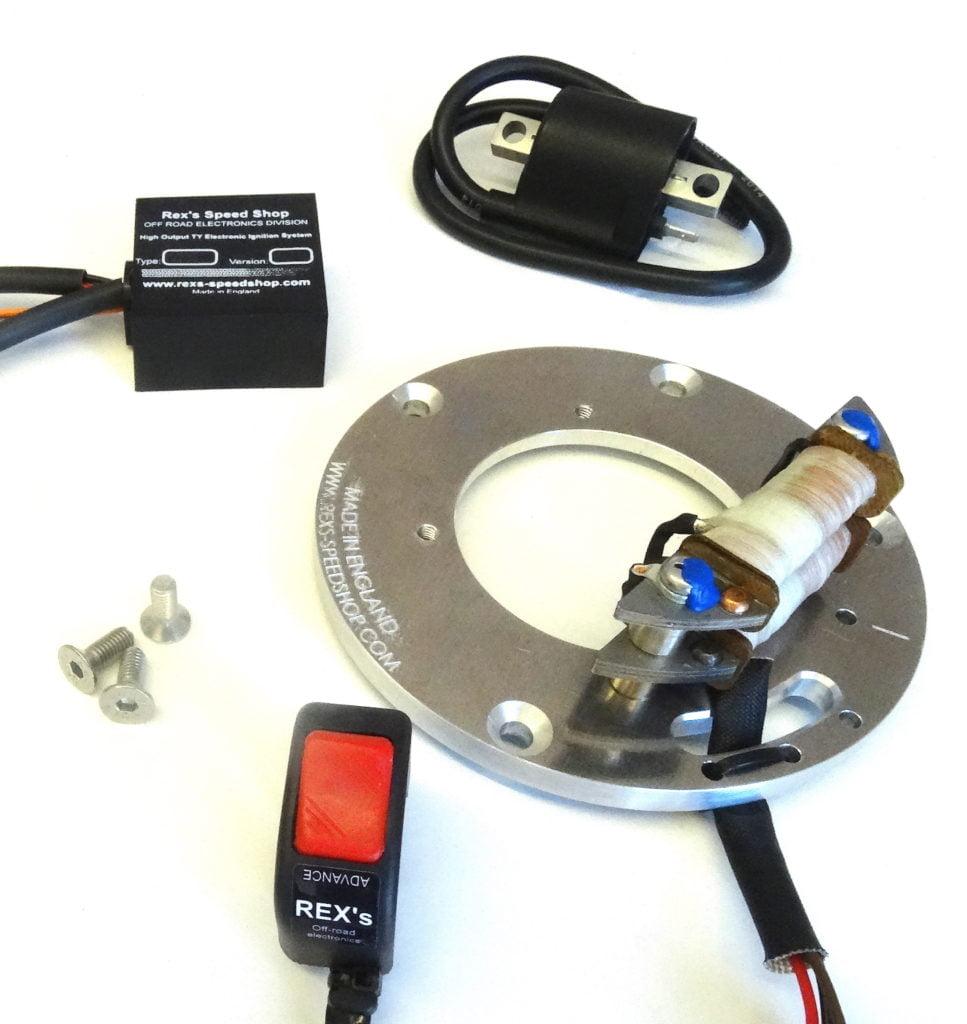 Yamaha Ty250 Mono Shock  U0026quot Pro U0026quot  Electronic Ignition Kit
