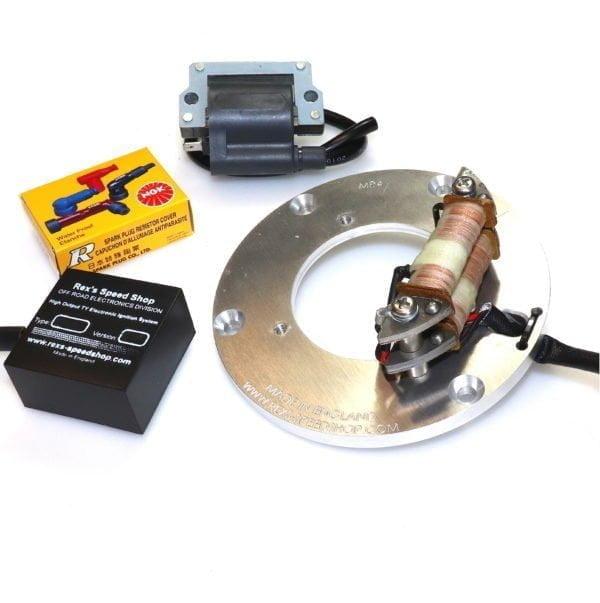TY250 twin shock electronic ignition stator kit upgrade