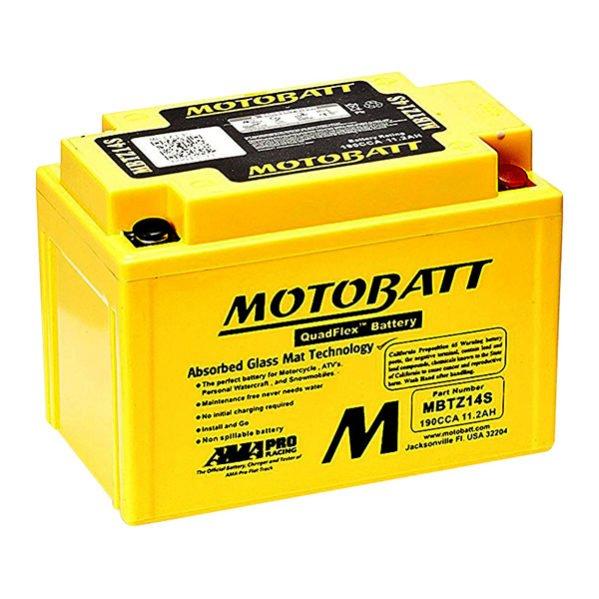 motobatt mbtz14s sealed agm battery rex 39 s speed shop. Black Bedroom Furniture Sets. Home Design Ideas