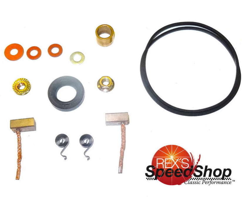 Yamaha XS650 Starter Motor Repair Kit - Rex's Speed Shop
