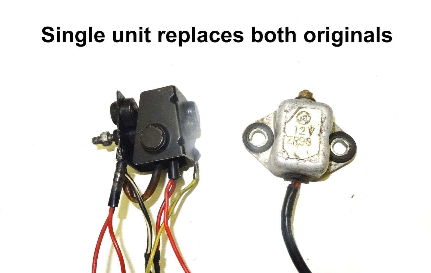 Suzuki T500 Replacement Regulator  U0026 Rectifier 1968-75