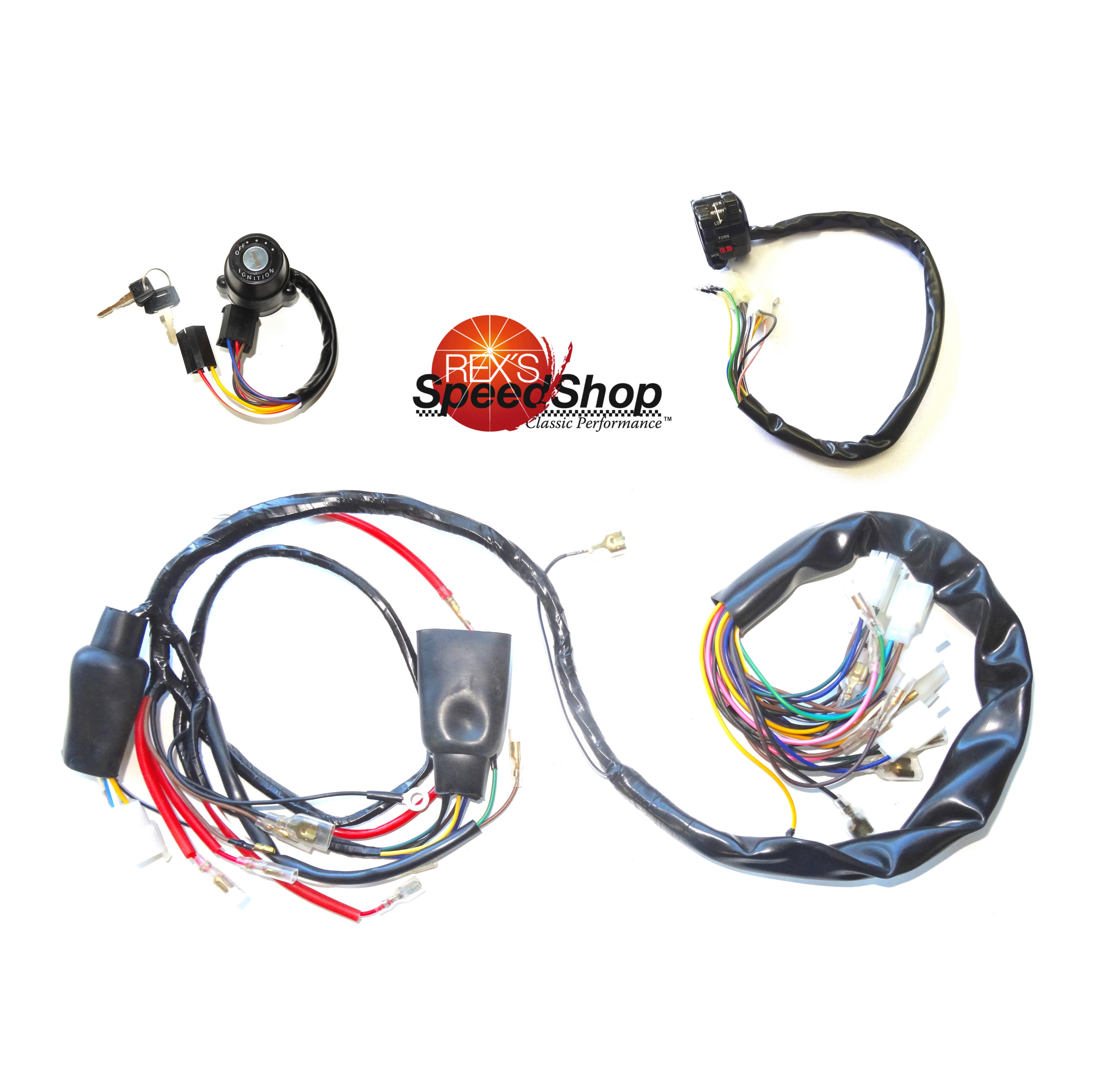 Fantastic Xt500 Universal Wiring Set All Points Ignition Models Rexs Wiring Cloud Staixuggs Outletorg
