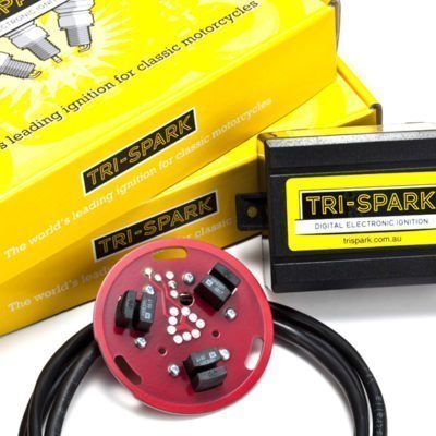 tri spark ignition for triumph trident BSA hurricane from rex's speed shop