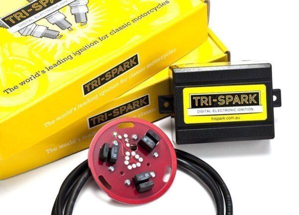 tri spark ignition for triumph trident BSA hurricane from rex's speed shop