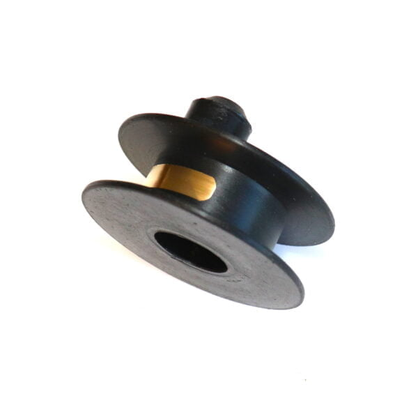 Segmented brass track slip ring for Lucas twin-cylinder, anti-clockwise magnetos. Original p/n 455361.