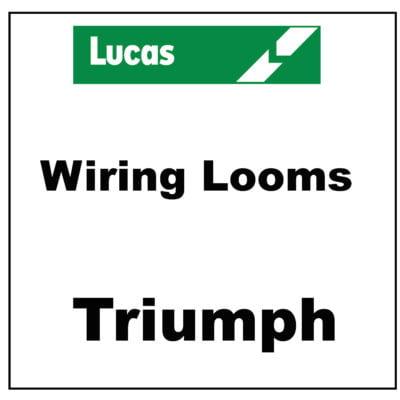 Lucas Wiring Looms Triumph