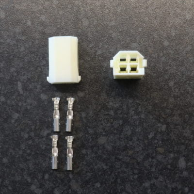 yazaki 4 way female connector