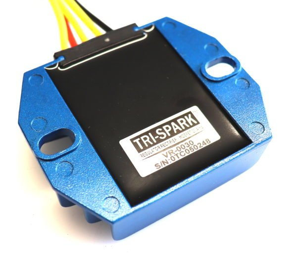 tri-spark mosfet regulator rectifier