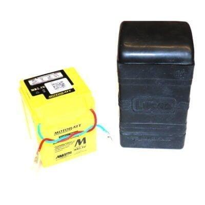 bsa bantam 12v battery